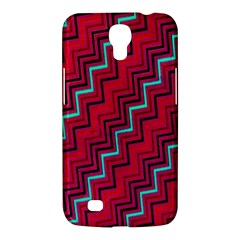 Red Turquoise Black Zig Zag Background Samsung Galaxy Mega 6 3  I9200 Hardshell Case by BangZart