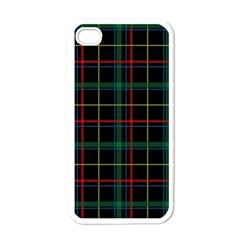 Tartan Plaid Pattern Apple Iphone 4 Case (white) by BangZart