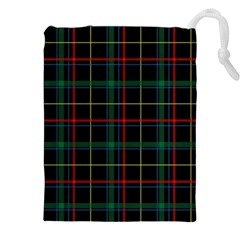 Tartan Plaid Pattern Drawstring Pouches (xxl) by BangZart