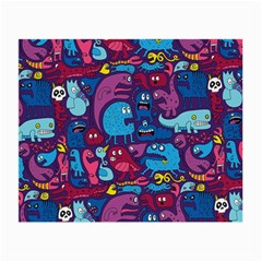 Hipster Pattern Animals And Tokyo Small Glasses Cloth by BangZart