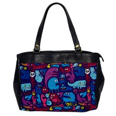 Hipster Pattern Animals And Tokyo Office Handbags by BangZart