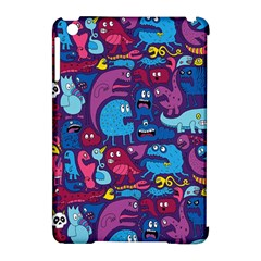 Hipster Pattern Animals And Tokyo Apple Ipad Mini Hardshell Case (compatible With Smart Cover) by BangZart