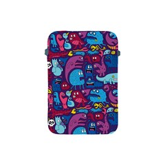 Hipster Pattern Animals And Tokyo Apple Ipad Mini Protective Soft Cases by BangZart