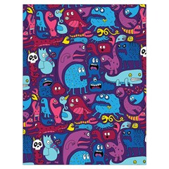 Hipster Pattern Animals And Tokyo Drawstring Bag (large) by BangZart