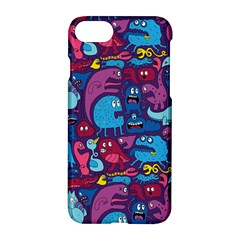 Hipster Pattern Animals And Tokyo Apple Iphone 7 Hardshell Case by BangZart