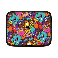 Monster Patterns Netbook Case (small)  by BangZart