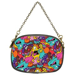 Monster Patterns Chain Purses (two Sides)  by BangZart