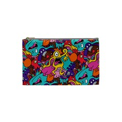Monster Patterns Cosmetic Bag (small)  by BangZart