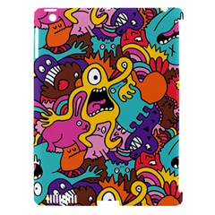 Monster Patterns Apple Ipad 3/4 Hardshell Case (compatible With Smart Cover) by BangZart