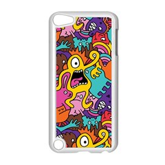 Monster Patterns Apple Ipod Touch 5 Case (white) by BangZart