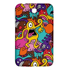 Monster Patterns Samsung Galaxy Tab 3 (7 ) P3200 Hardshell Case  by BangZart