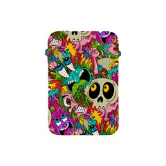 Crazy Illustrations & Funky Monster Pattern Apple Ipad Mini Protective Soft Cases by BangZart