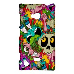 Crazy Illustrations & Funky Monster Pattern Nokia Lumia 720 by BangZart