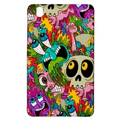Crazy Illustrations & Funky Monster Pattern Samsung Galaxy Tab Pro 8 4 Hardshell Case by BangZart