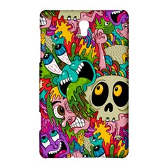 Crazy Illustrations & Funky Monster Pattern Samsung Galaxy Tab S (8 4 ) Hardshell Case  by BangZart