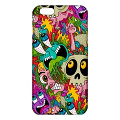 Crazy Illustrations & Funky Monster Pattern Iphone 6 Plus/6s Plus Tpu Case by BangZart