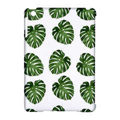 Leaf Pattern Seamless Background Apple Ipad Mini Hardshell Case (compatible With Smart Cover) by BangZart
