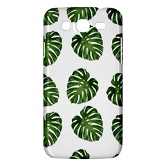 Leaf Pattern Seamless Background Samsung Galaxy Mega 5 8 I9152 Hardshell Case  by BangZart