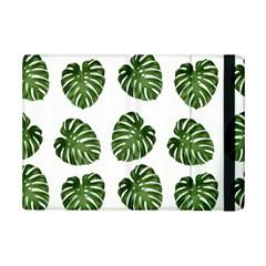 Leaf Pattern Seamless Background Ipad Mini 2 Flip Cases by BangZart