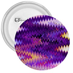 Purple And Yellow Zig Zag 3  Buttons by BangZart