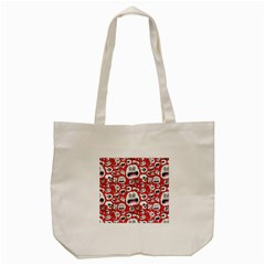 Another Monster Pattern Tote Bag (cream) by BangZart