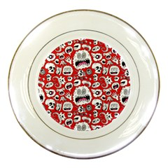 Another Monster Pattern Porcelain Plates by BangZart