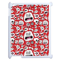 Another Monster Pattern Apple Ipad 2 Case (white) by BangZart