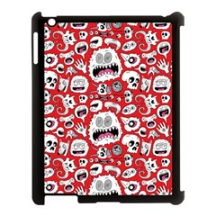 Another Monster Pattern Apple Ipad 3/4 Case (black) by BangZart