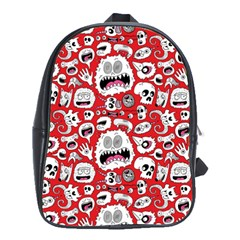 Another Monster Pattern School Bags (xl)  by BangZart