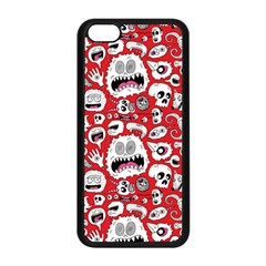 Another Monster Pattern Apple Iphone 5c Seamless Case (black) by BangZart