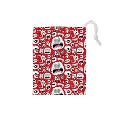 Another Monster Pattern Drawstring Pouches (small)  by BangZart