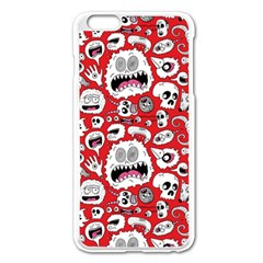 Another Monster Pattern Apple Iphone 6 Plus/6s Plus Enamel White Case by BangZart