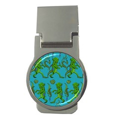 Swamp Monster Pattern Money Clips (round)  by BangZart