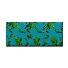 Swamp Monster Pattern Cosmetic Storage Cases by BangZart