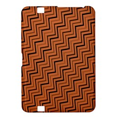 Brown Zig Zag Background Kindle Fire Hd 8 9  by BangZart