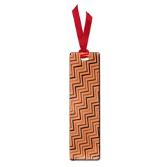 Brown Zig Zag Background Small Book Marks by BangZart