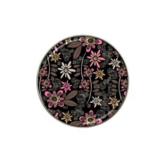 Flower Art Pattern Hat Clip Ball Marker by BangZart