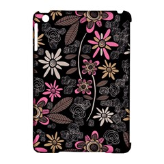Flower Art Pattern Apple Ipad Mini Hardshell Case (compatible With Smart Cover) by BangZart