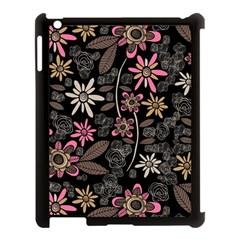 Flower Art Pattern Apple Ipad 3/4 Case (black) by BangZart