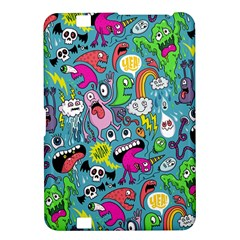 Monster Party Pattern Kindle Fire Hd 8 9  by BangZart