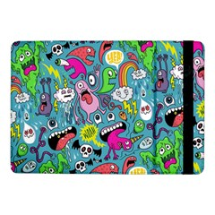 Monster Party Pattern Samsung Galaxy Tab Pro 10 1  Flip Case by BangZart