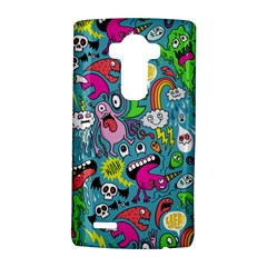 Monster Party Pattern Lg G4 Hardshell Case by BangZart