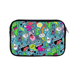 Monster Party Pattern Apple Macbook Pro 13  Zipper Case by BangZart