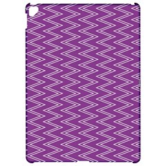 Zig Zag Background Purple Apple Ipad Pro 12 9   Hardshell Case by BangZart