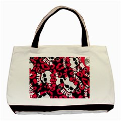 Mattel Monster Pattern Basic Tote Bag (two Sides) by BangZart