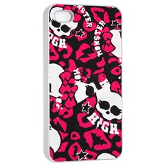 Mattel Monster Pattern Apple Iphone 4/4s Seamless Case (white) by BangZart