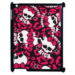 Mattel Monster Pattern Apple Ipad 2 Case (black) by BangZart