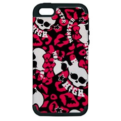 Mattel Monster Pattern Apple Iphone 5 Hardshell Case (pc+silicone) by BangZart