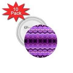 Purple Pink Zig Zag Pattern 1 75  Buttons (10 Pack) by BangZart