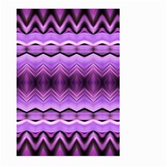 Purple Pink Zig Zag Pattern Large Garden Flag (two Sides) by BangZart